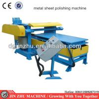 automatic metal plate surface polishing machine Manufactures