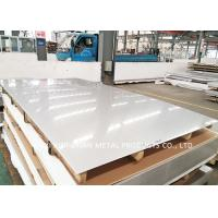 China Cold Roll 2B 316l Stainless Steel Sheet / Stainless Steel 316 Plate PVC Film on sale