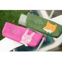 China Popular Europe eco-friendly felt pencil case for school students on sale
