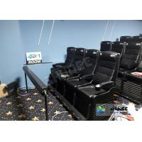 Customized Electric 4D Movie Theater With 2 , 4 , 6 Seats Durable Manufactures