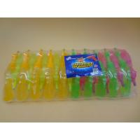 Plastic Gum Novelty Healthier Liquid Sour Candy For Little Girls / Boys Manufactures