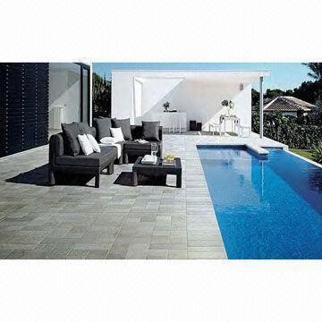 Quality Granite Deck Tiles, Full Body Porcelain Tiles Granite Look, 600 x 600mm for sale