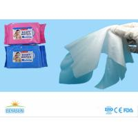 China Skin Care Disposable Wet Wipes Spunlace Nonwoven Makeup Remover Wipes on sale
