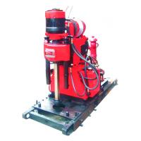 Mining Exploration Drilling Rig Skid Mounted , Blast Hole Drilling Manufactures