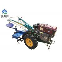 Small Modern Farming Machines Hand Walk Behind Tractor Double Sided Plough Manufactures