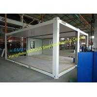 Wind Resistant And Anti-seismic Modular Container Homes With Quick Frames Design Manufactures