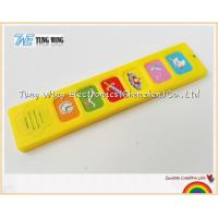 Popular 6 Button Sound Book Module Indoor Educational Toys for sale