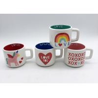 Gifts Spot Decal 3d Ceramic Mug In 2 Tone Colors For Valentines ' S Day for sale