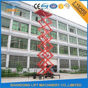 China Hydraulic Mobile Platform Lift Small Electric Scissor Lift SGS BV on sale
