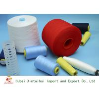 High Strength Dyed Polyester Core Spun Yarn Z Twist for Textile Sewing Knitting Manufactures