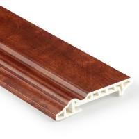 100mm high quality interior decorative pvc wall skirting Manufactures