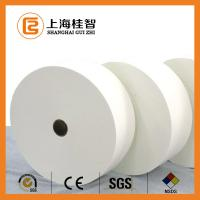 White Polyester Non Woven Fabric Cotton Nonwoven Raw Material Customised Manufactures