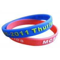 Children Wrist Sports Custom Silicone Bracelets For Activity Manufactures