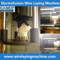 Buy cheap canex wire laying machine molds manufacturing electro fusion fittings, pe from wholesalers