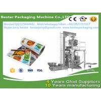 FDA certificated laminated plastic macaroni packaging roll with bestar 10 heads weighting packaging machine Manufactures