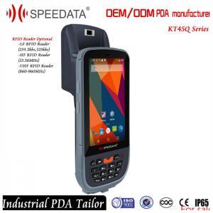 Mobile Data Collection Handheld RFID Reader 125KHZ Fingerprint Reader Android Manufactures