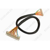 Industrial 1.0mm LVDS Cable Assembly Twisted LVDS LCD Display Cable Harness Manufactures