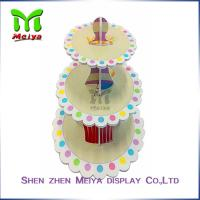 New Year Party Pack Cardboard Cake Stands , cardboard cupcake tower Manufactures