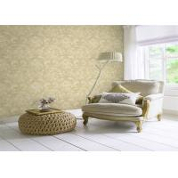 Classical Non Woven Interior Design Wallpapers Washable With Embossed Surface Manufactures