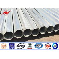 China 30FT 35FT 40FT Philippines hot dip galvanized steel pole wholesale on sale