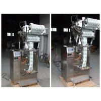 304 Stainless Steel Vertical Filling And Sealing Machine / Sachet Packing Machine Manufactures