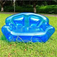Summer Home Garden Inflatable Kids Toys Double Perosn Sofa Bed / Outdoor Indoor Beach Chairs Manufactures