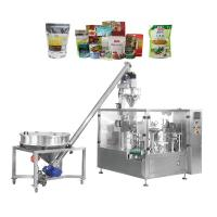 Doypack Frozen Food Dry Custard Powder Packaging Machine Full Auto Easy Operate Manufactures