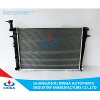Plastic Tank Automotive Radiators Korea Car Tucson 2004 MT Aluminum Core Manufactures