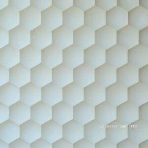 China 3d beige artistic sculptural decor stone art panels. on sale