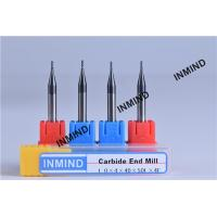 Upto HRC50 AlTiN Coating , 1mm to 4mm Square End Mill , 4 Flute , Carbide end mill , Grain Size 0.8UM , Manufactures