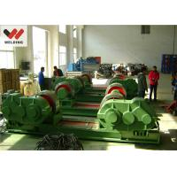 Fit Up And Assembly Pipe Welding Rotator , Bolt adjustable Welding Turning Roller HGK10 For Tank Manufactures