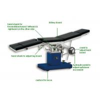 Stailess Steel Gynecology Operating Room Tables Manual Examination Bed (ALS-OT002m) Manufactures