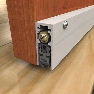 EPDM Rubber Automatic Door Bottom Seal For Wooden Door , Exterior Door Bottom Seal Manufactures