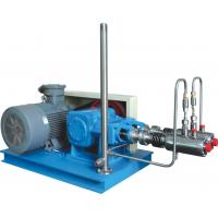 China Steel Blue Color High Efficiency Automatic Cryogenic Liquid Pump For L-CNG Cylinders Filling on sale