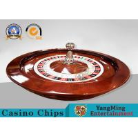 32 Inch International American Roulette Wheel Board With Resin Ball / Play Roulette For Fun Manufactures