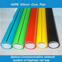fiber optic cable hdpe 40mm silicone duct hot-sale optical fiber duct hdpe silicon core pi Manufactures
