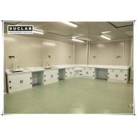 Chemical Resistant Lab Bench Furniture With PP Worktop And Cabinet For Laboratory Manufactures