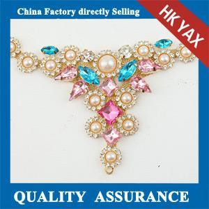 China crystal rhinestone metal trim,China munufacturer besr quality trim metal,factory price metal trim for shoes on sale