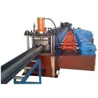3 Waves Highway Guardrail Roll Forming Machine Use Universal Coupling Export to Poland European Countries Manufactures