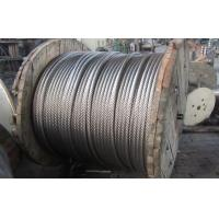 304 Stainless Steel Wire Rope 6mm For Basket , No Crack High Tensile 1x37 Manufactures