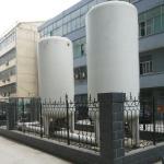 ASME GB150 Cryogenic Liquid Oxygen Nitrogen Argon Tank CO2 Storage Tank with 30m3 Manufactures