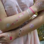 body temporary tattoo, water transfer tattoo, tattoo sticker, metallic tattoo Manufactures