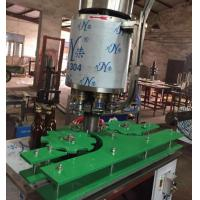 Durable Glass Bottle Filling And Capping Machine With 12 Filling Head Manufactures