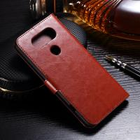 Protective LG Leather Case for LG V20 Handmade Folio Style Side - Open With Hole Manufactures