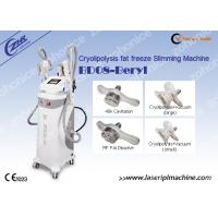 Anti-Cellulite Vacuum Cryolipolysis Slimming Machine With 4 Handles Equipment Manufactures