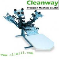 China Manual T-Shirt Silk Screen Printing Equipment with Micro Registration (CY-41) on sale