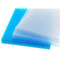 Sound Proofclear Flat Roof Panels, Coloured Polycarbonate Sheet Building Roofing Material Manufactures