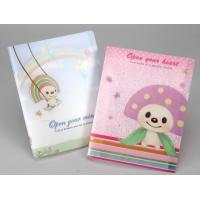 Customized Notepad Printing Type Plastic PET Paperback Diary Notebook with 3D Lenticular Cover Manufactures