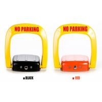 Anti rust steel automatic Car Parking Lock system powered by charge free D size battery Manufactures