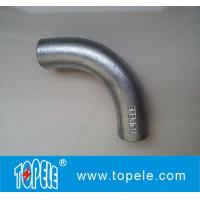 BS4568 Conduit Fittings 20mm, 25mm Malleable Iron Solid Elbow , 90 Degree Manufactures